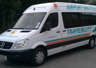 16 Seater White Minibus