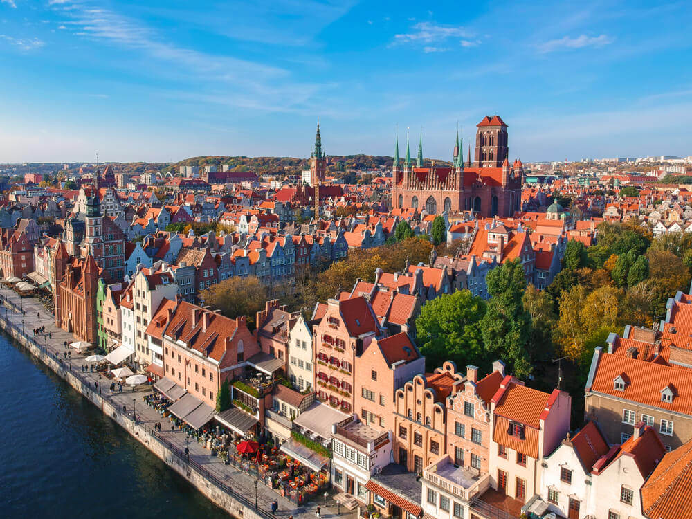 Travel to Gdansk in Autumn