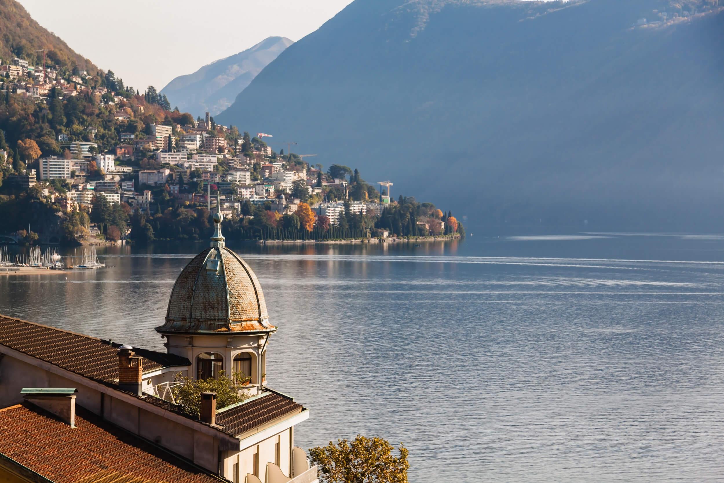 Travel to Lugano in Autumn