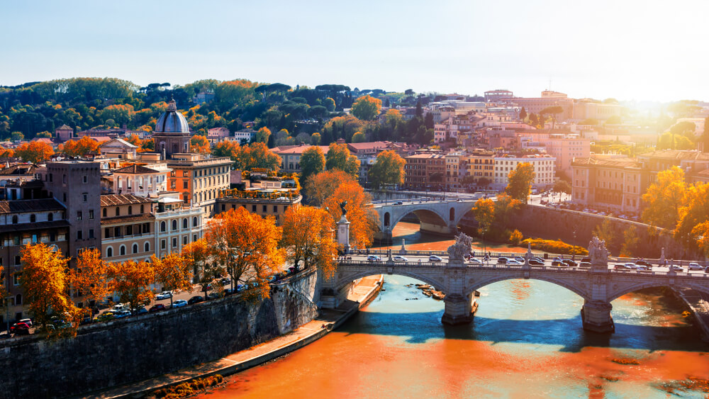 Travel to Rome in Autumn